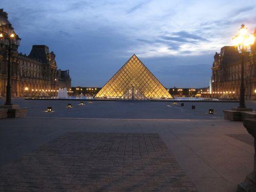 louvre louvre pyramid paris