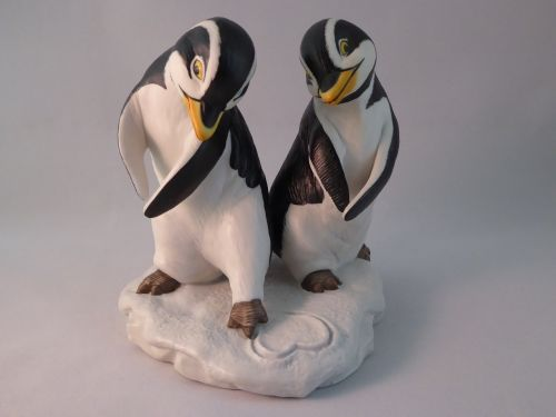 love valentine penguin