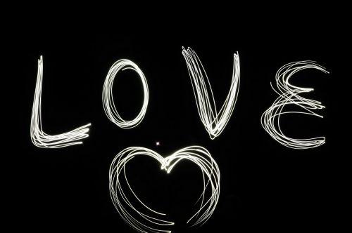 love hart night view