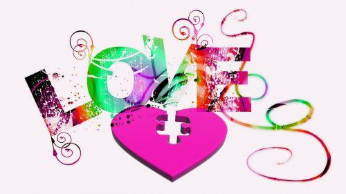 love romance heart puzzle