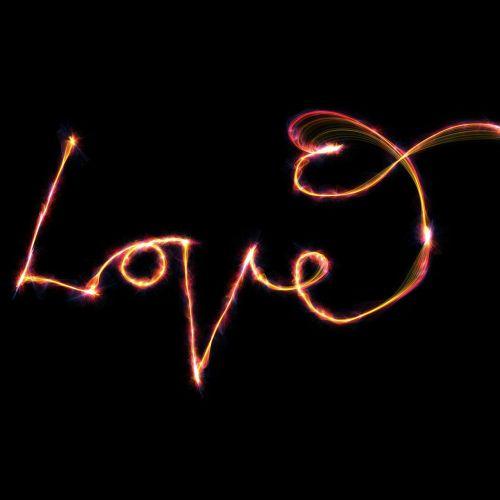love text font
