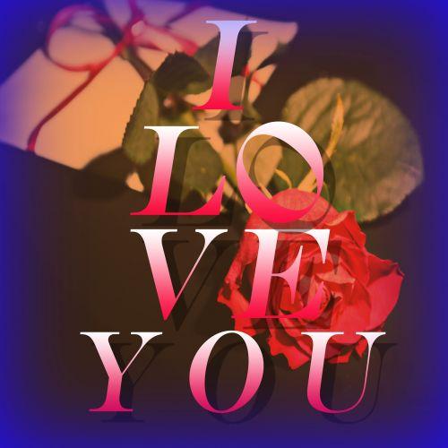 love flower letters