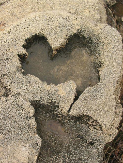 love stone heart