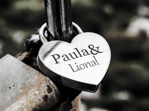love padlock lover's bridge