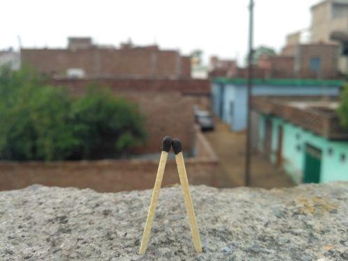 love feelings matchstick