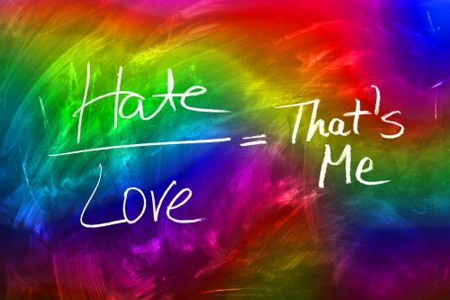 love hatred board