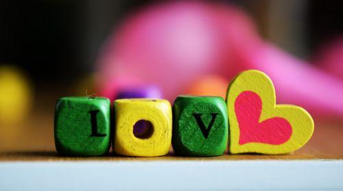 love heart the inscription