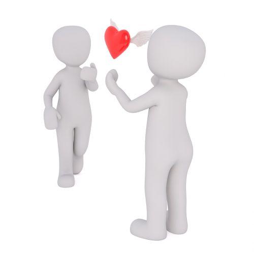 love heart valentine's day
