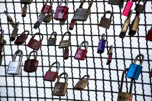 love love locks padlock