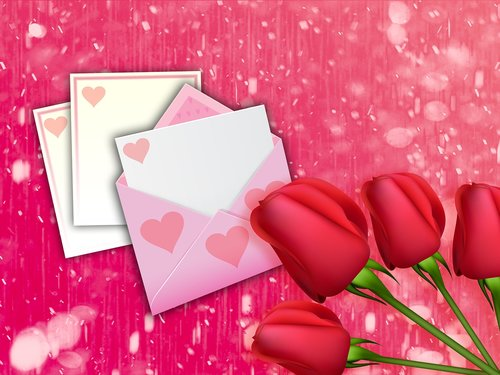 love  romantic  card