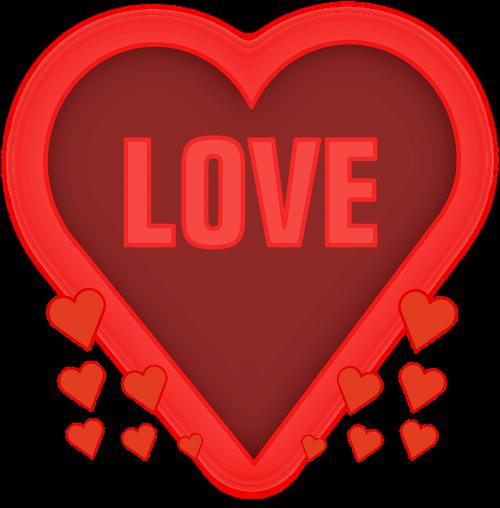 love heart affection