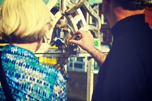 love locks padlocks