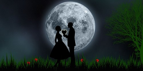 love  romantic  romantic night