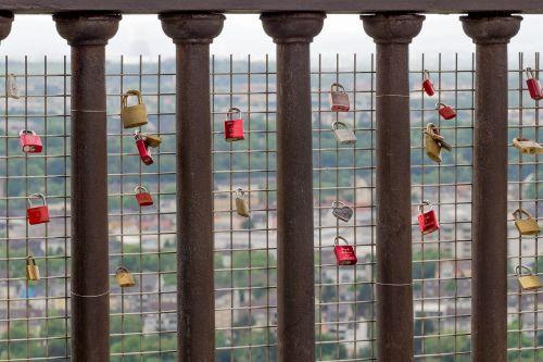 love castle padlock