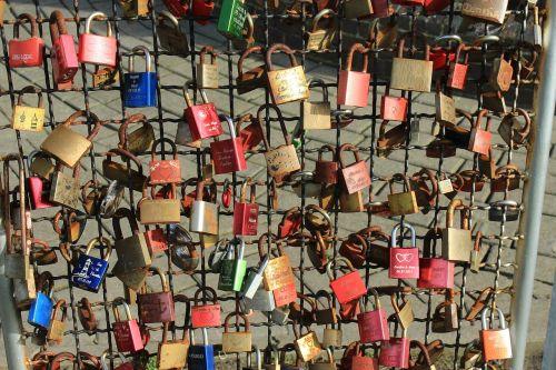 love castle castles padlock