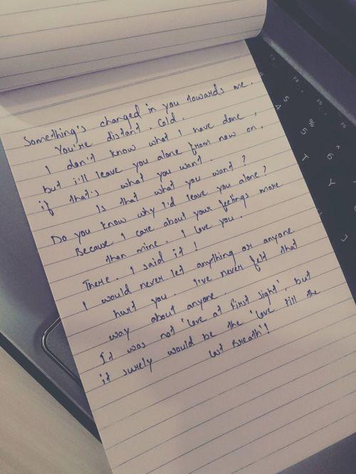 love letter letter love