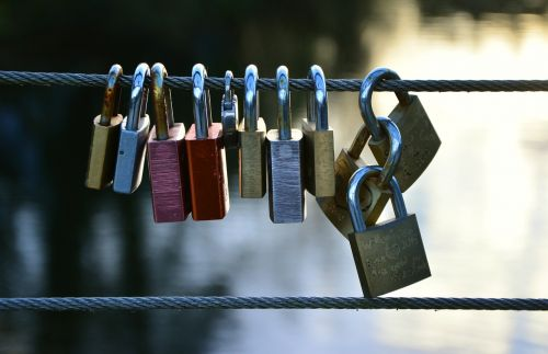 love locks castle padlock
