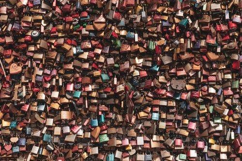 love locks  texture  background