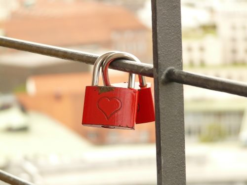 love locks padlocks engraving