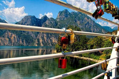 love locks locks railing