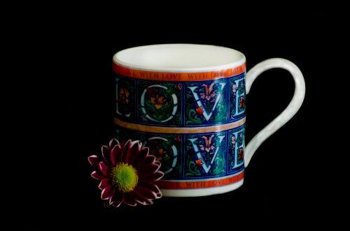Love Mug And Flower