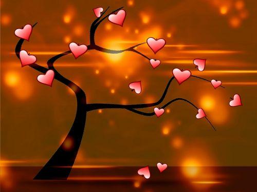 fonas, meilė, grožis, gimtadienis, šventė, kortelė, plakatas, simbolis, gėlės, saulė, sauermaul, meilės medis 3