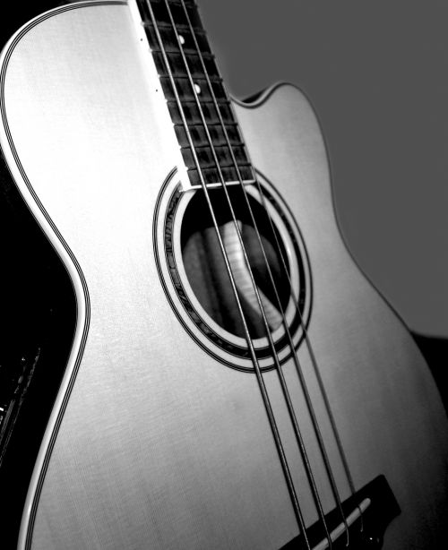 low acoustic bass music