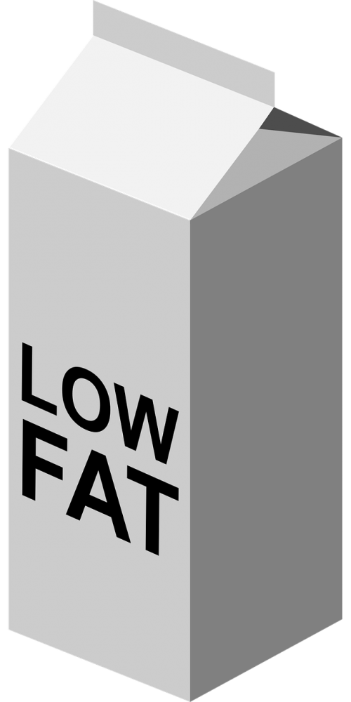 low fat milk dairy