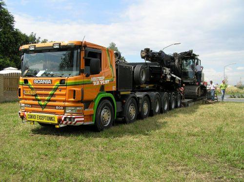 low loader drilling machine to estonia