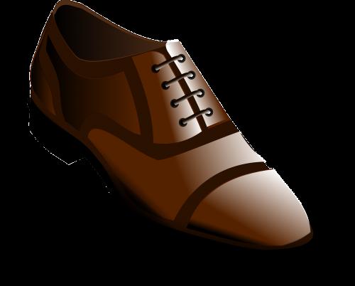 low shoe shoe brown