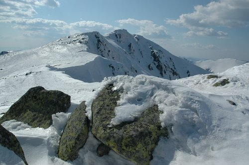 low tatras  winter  nature