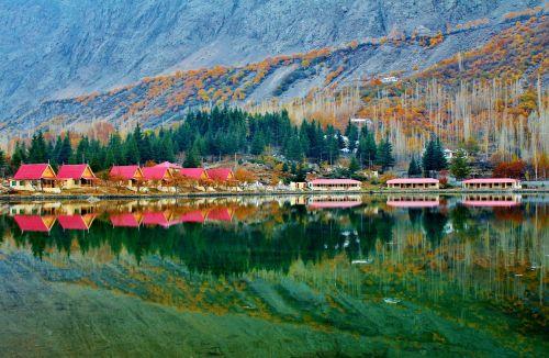 žemutinis kachūros ežeras,šangrilo ežeras,skardu,Pakistanas,ežeras,karakorum,himalaja,dangus,kalnas,slėnis,gamta,Karakoramas,šiaurinis,piko,Rokas,atspalvių,nuotykis,Šangrilo kurorto viešbutis,kurortas,shangri-la