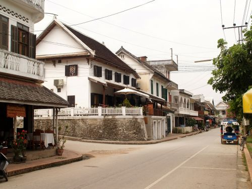 luang prabang laos town