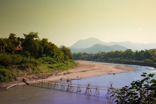 luang prabang khan river laos