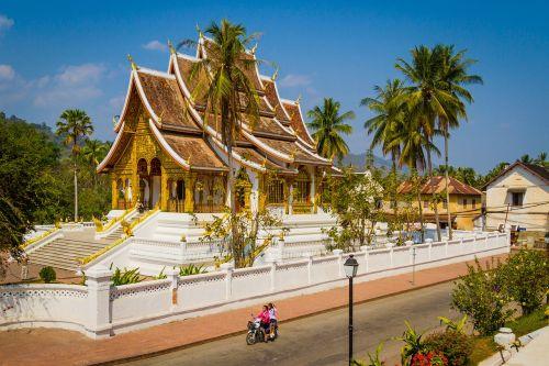 luang prabang temple in luang luang