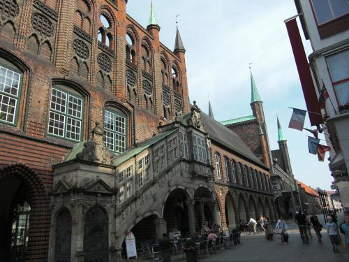 lübeck hanseatic city town hall