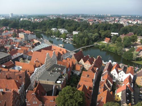 lübeck old town hanseatic league