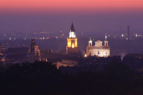 lublin panorama city