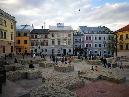 lublin the old town poland