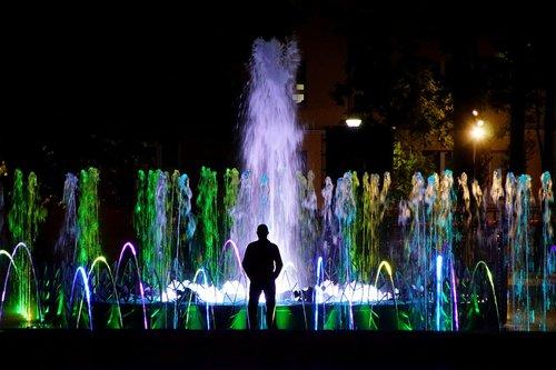 lublin  poland  fountain