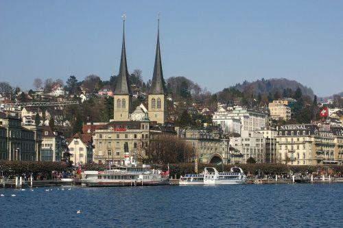lucerne hofkirche lake lucerne region