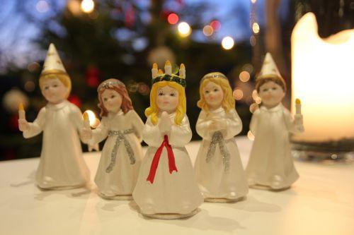 lucia lucia procession christmas