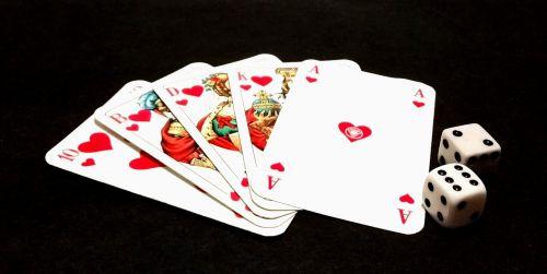 luck gambling cards