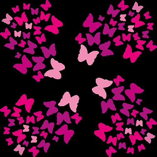 luck romantic butterflies