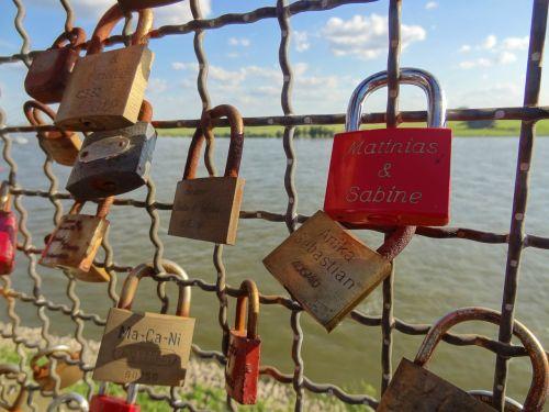 luck castle padlock love