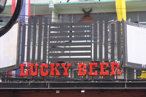 lucky beer pub bangkok