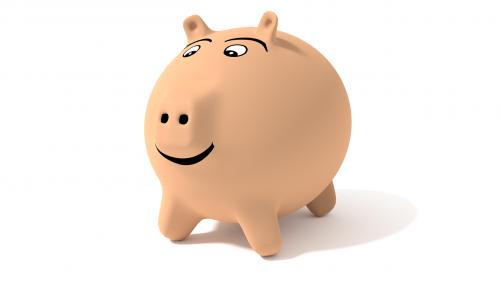 lucky pig piggy bank pig