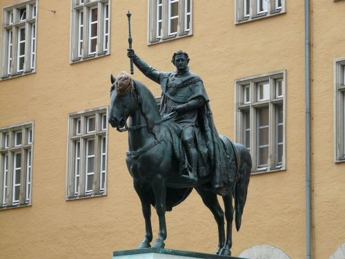 ludwig i equestrian statue king