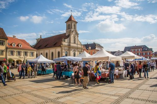 ludwigsburg germany marketplace antique mile
