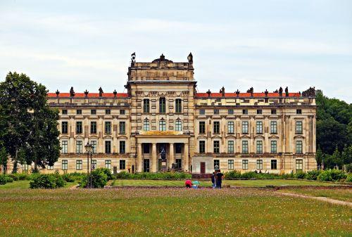 ludwigslust-parchim castle building